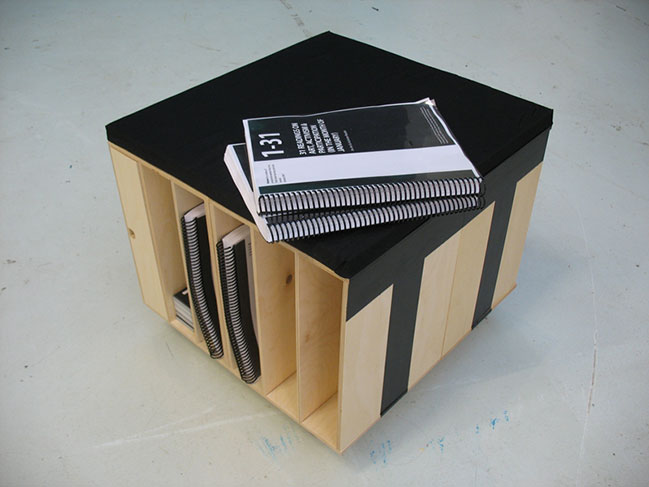 Prototype of a pedagogical furniture