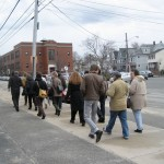 """Community"" in Question walking tour"