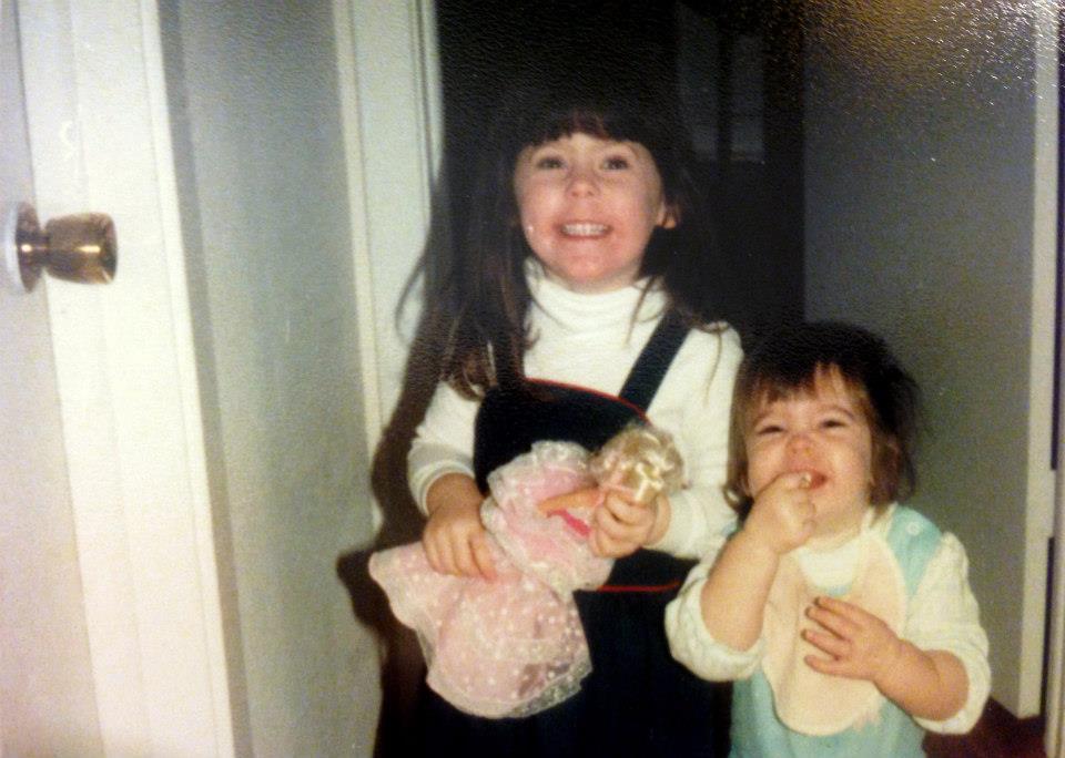 Katie & Her sister
