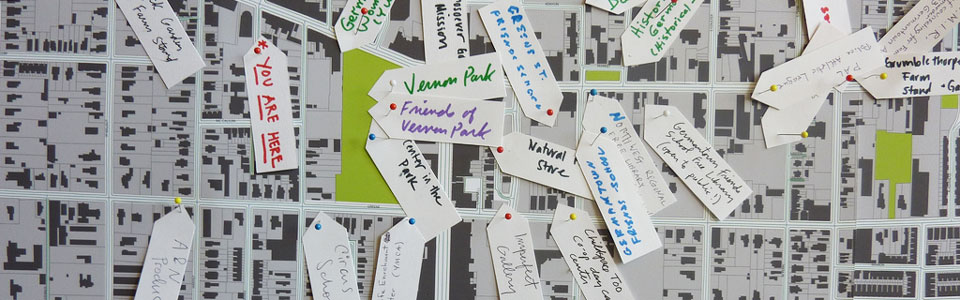 Structures of Support: Germantown Asset Map